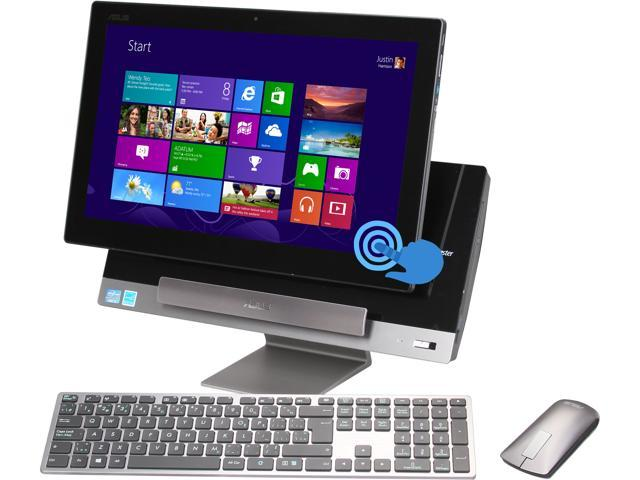"ASUS Desktop PC P1801-B054K Intel Core i3 3220 (3.30 GHz) 4 GB DDR3 1 TB HDD 18.4"" Touchscreen PC Station: Genuine Windows ..."