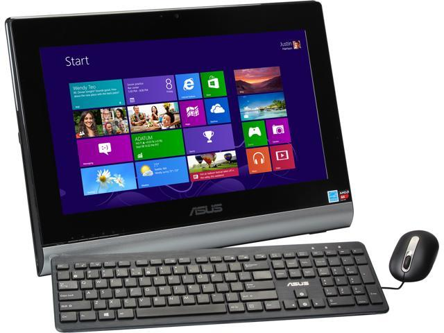 "ASUS Desktop PC ET2020AUKK-03 A4-Series APU A4-5000 (1.5 GHz) 4 GB DDR3 500 GB HDD 19.5"" Windows 8 64-bit"