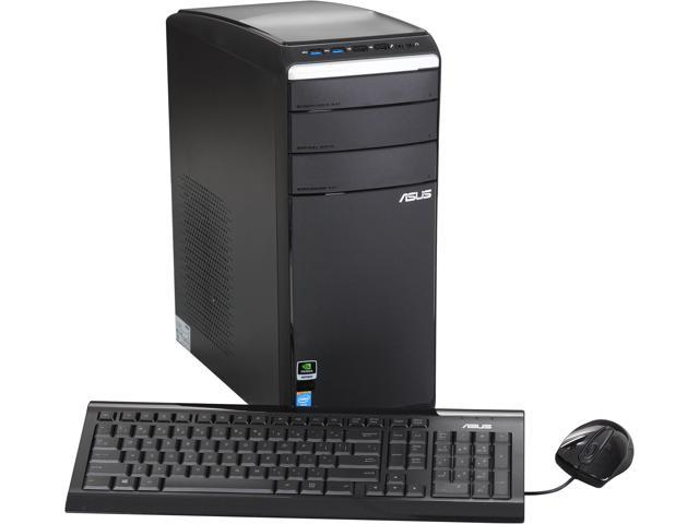 ASUS Desktop PC M51AD-US001S Intel Core i7 4770 (3.40 GHz) 16 GB DDR3 1 TB HDD NVIDIA GeForce GTX 650 1 GB Windows 8