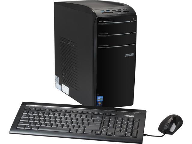 ASUS Desktop PC Essentio DTASCM6870US3AD Intel Core i7 3770 (3.40 GHz) 16 GB DDR3 2 TB HDD NVIDIA GeForce GT 620 2GB Windows 7 Home Premium 64-Bit