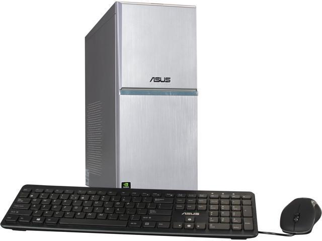 ASUS Desktop PC M70AD-US003S Intel Core i7 4770 (3.40 GHz) 16 GB DDR3 1TB HDD + 8GB SSD Hybrid Drive HDD Windows 8.1