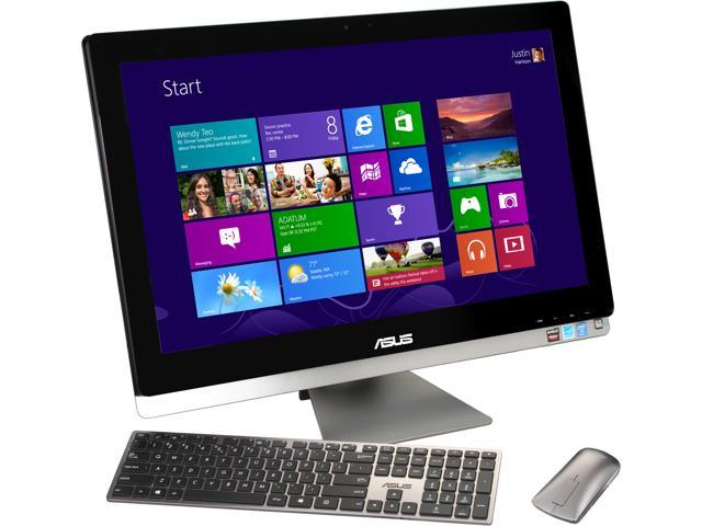 "ASUS All-in-One PC ET2702IGTH-03 Intel Core i7 4770S (3.10 GHz) 8 GB DDR3 2 TB HDD 27"" Touchscreen Windows 8.1 64-Bit"