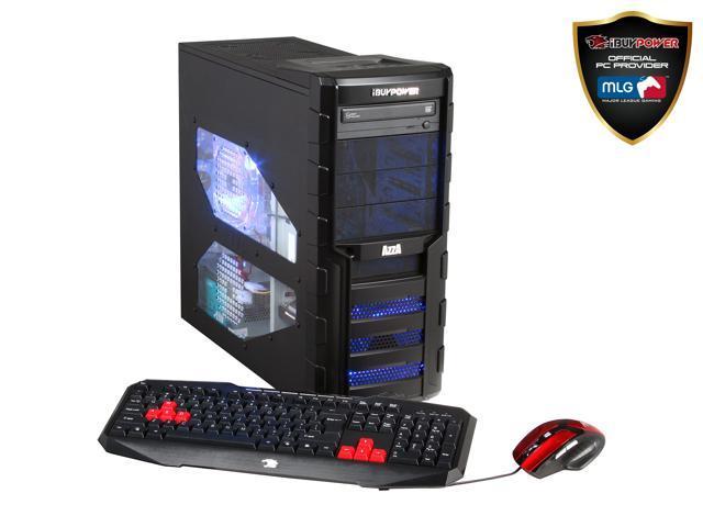 iBUYPOWER Desktop PC Gamer Power NE615FX AMD FX-Series FX-4300 (3.80 GHz) 8 GB DDR3 1 TB HDD AMD Radeon HD 7750 1GB Windows 8.1