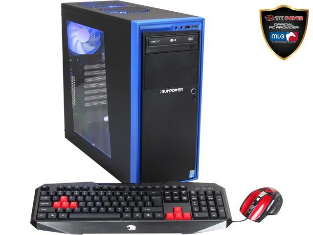 iBUYPOWER Desktop PC Power NE703i Intel Core i5 4430 (3.00 GHz) 16 GB DDR3 500 GB HDD Windows 7 Home Premium 64-Bit