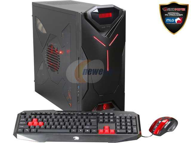 iBUYPOWER Desktop PC AMD A10-6800K-2 A10-Series APU A10-6800K (4.10 GHz) 16 GB DDR3 500GB SATA3 HDD + 120GB SSD HDD AMD Radeon HD 8670D Windows 7 Home Premium 64-bit