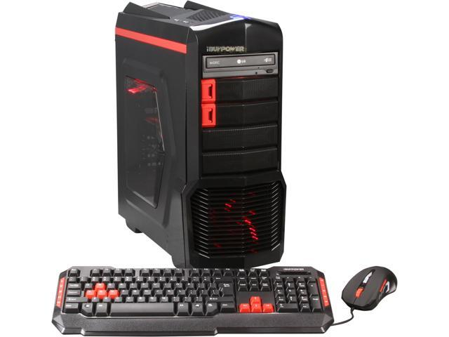 iBUYPOWER Desktop PC ARC Series NE671FX AMD FX-Series FX-8320 (3.50 GHz) 8 GB DDR3 1 TB HDD AMD Radeon R9 270 2GB Windows 7 Home Premium 64-Bit
