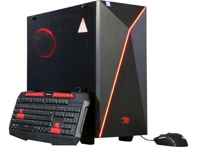 iBUYPOWER Desktop Computer NE500K Intel Core i7 6th Gen 6700K (4.00 GHz) 8 GB DDR4 1 TB HDD NVIDIA GeForce GTX 1050 Windows 10 Home 64-Bit