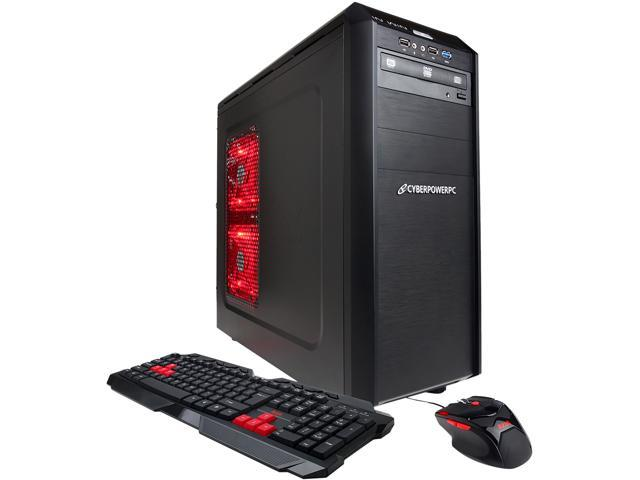CyberpowerPC Desktop PC Gamer Xtreme GXi480 Intel Core i5 4430 (3.00 GHz) 8 GB DDR3 1 TB HDD AMD Radeon HD 7770 Windows 8 64-Bit