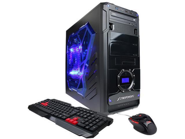 CyberpowerPC Desktop PC Gamer Xtreme GXi490 Intel Core i5 4570 (3.20 GHz) 8 GB DDR3 1 TB HDD Windows 8 64-Bit