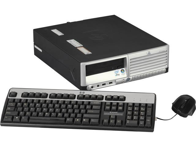 HP Compaq Desktop PC DC7700 Core 2 Duo 1.86 GHz 2 GB DDR2 80 GB HDD Windows 7 Home Premium 64-Bit