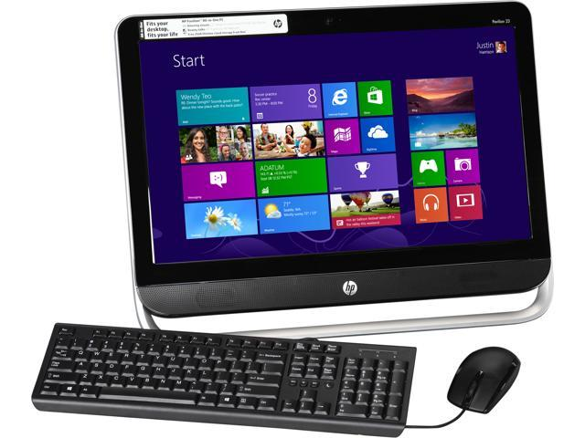 HP All-In-One PC Pavilion 23-b390 (H6U75AA#ABA) A6-Series APU A6-5200 (2.00 GHz) 4 GB DDR3 500 GB HDD 23