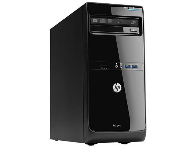 HP Desktop PC 3500 E3T52UT#ABA Pentium Dual Core G2030 (3.00 GHz) 2 GB DDR3 500 GB HDD Windows 8 Pro 64