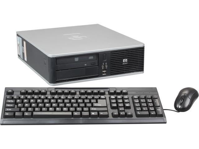 HP DC7900 Small Form Factor Desktop PC Intel Core 2 Duo 2.33Ghz 2GB DDR2 RAM 160GB HDD DVDROM Windows 7 Home Premium