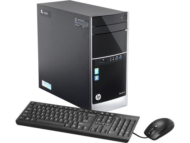 HP Desktop PC Pavilion 500-281 (F3E14AA#ABA) Intel Core i3 4130 (3.40 GHz) 4 GB DDR3 1 TB HDD Windows 7 Home Premium 64-Bit