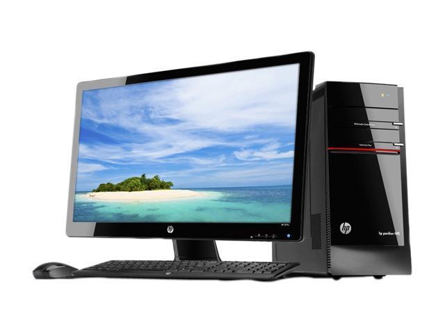 HP Desktop PC Pavilion H8-1117C-B (QU044AA#ABA) Intel Core i7 2600 (3.40 GHz) 8 GB DDR3 1.5 TB HDD AMD Radeon HD 6670 1GB DDR5 Windows 7 Home Premium 64-Bit