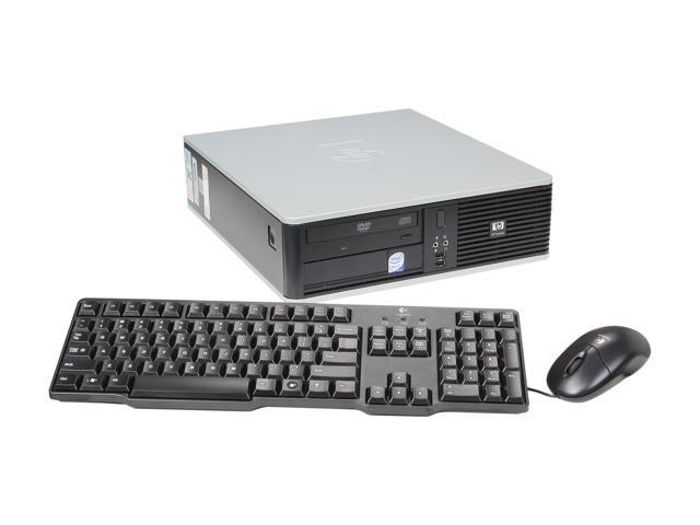 HP Desktop PC DC5800 Core 2 Duo 3.0 GHz 4GB 750 GB HDD Windows 7 Home Premium