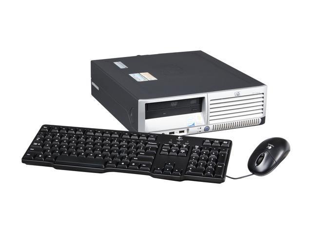 HP Desktop PC DC7700 Core 2 Duo 2.40 GHz 2GB 750 GB HDD Windows 7 Home Premium