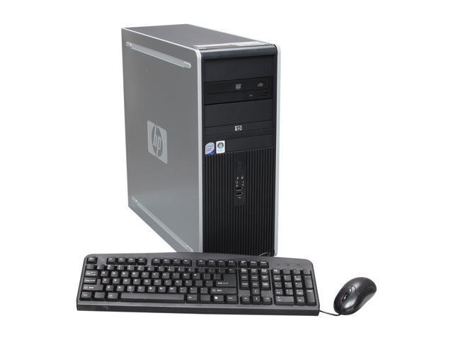 HP Desktop PC DC7900 (NH239UP#ABA) Core 2 Duo E8500 (3.16 GHz) 4GB 500 GB HDD Windows 7 Professional
