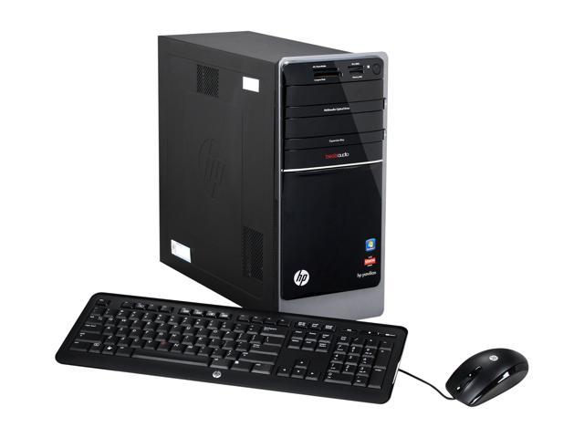 HP Desktop PC Pavilion p7-1298c (H2L97AAR#ABA) A10-Series APU A10-5700 (3.4 GHz) 12 GB DDR3 2 TB HDD Windows 7 Home Premium ...