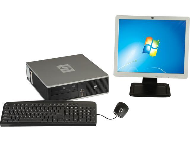 HP Compaq DC7900 Small Form Factor Desktop PC Intel Core 2 Duo 3.0 Ghz, 2GB RAM, 160 GB HDD, Windows 7 Professional 32 Bit with 17