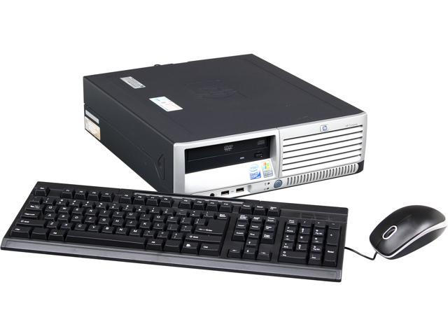 HP Compaq Desktop PC Compaq_DC7700 DC7700 Core 2 Duo E6300 (1.86 GHz) 2 GB DDR2 80 GB HDD Windows 7 Professional 32-Bit
