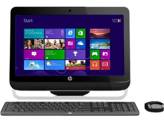 """HP All-in-One PC Omni 120-1333w (H3Z76AAR#ABA) AMD Dual-Core Processor E1-1200 (1.40 GHz) 4 GB DDR3 500 GB HDD 20"""" Windows ..."""