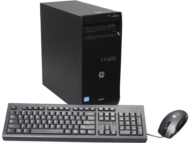 HP Business Desktop 3500 (D8C46UT#ABA) Desktop PC Intel Core i5 4GB DDR3 500GB HDD Windows 7 Professional 64-bit (available ...