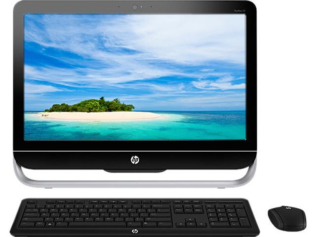 "HP All-in-One PC Pavilion 23-B017C H3Z22AAR#ABA AMD Dual-Core Processor A4-5300 (3.40 GHz) 6 GB DDR3 500 GB HDD 23"" Windows ..."