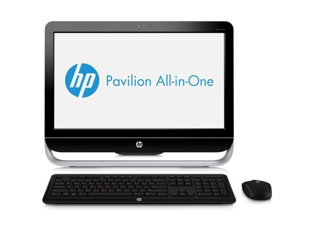 "HP Desktop PC Pavilion 23-b034 (H3Z61AAR#ABA) A6-Series APU A6-5400K (3.6 GHz) 6 GB DDR3 1 TB HDD 23"" Windows 8 64-bit"