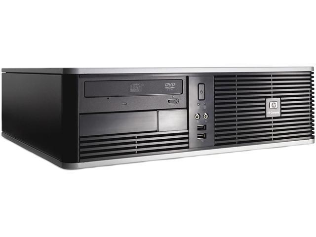 HP Compaq Desktop PC - Grade-A HPDC7800E655006 (DC7800) Core 2 Duo E6550 (2.33 GHz) 2GB 320 GB HDD Intel GMA 3100 Windows 7 Professional 64-bit