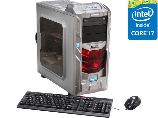 Avatar Desktop PC Gaming I7-4779 (Gen4) Intel Core i7 4770K (3.50 GHz) 16 GB DDR3 1 TB HDD Windows 8 64-Bit