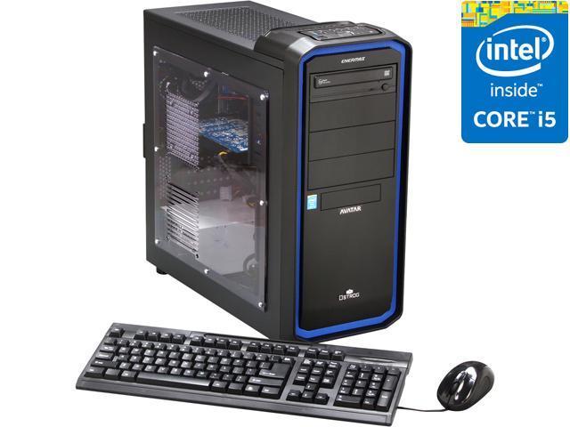 Avatar Desktop PC Gaming I5-4677K (Gen4) Intel Core i5 4670K (3.40 GHz) 8 GB DDR3 1 TB HDD AMD ...