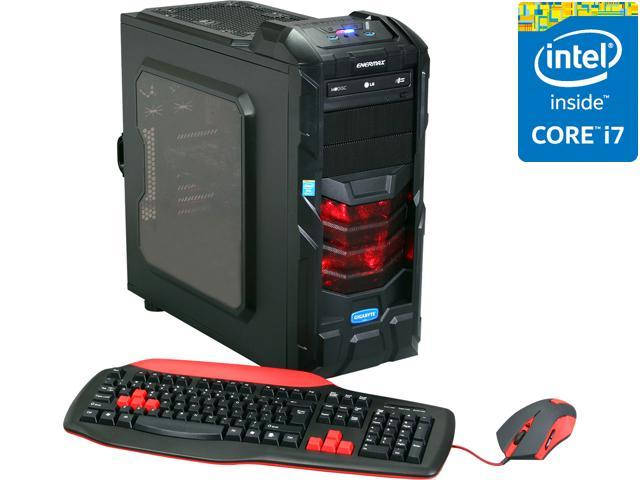 Avatar Desktop PC Gaming I7-4776 (Gen4) Intel Core i7 4770K (3.50 GHz) 16 GB DDR3 1TB HDD + 120GB SSD HDD NVIDIA Geforce GTX 760 2GB Windows 8 64-Bit