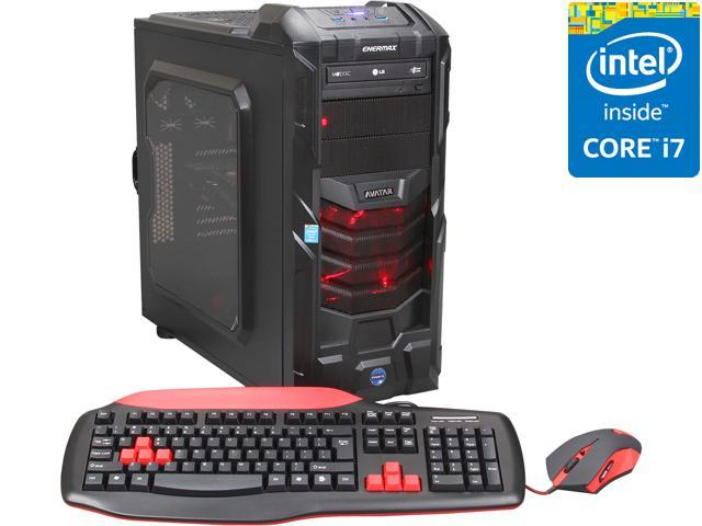 Avatar Desktop PC Gaming i7-4777OC Intel Core i7 4770K (3.50 GHz) 16 GB DDR3 2 TB HDD NVIDIA GeForce GTX 770 2GB Windows 8.1 64-Bit