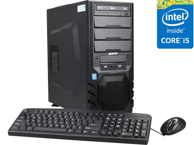 Avatar Desktop PC Gaming I5-4576 Intel Core i5 4570 (3.20 GHz) 8 GB DDR3 1 TB HDD NVIDIA GeForce GTX 760 Windows 8.1 64-Bit