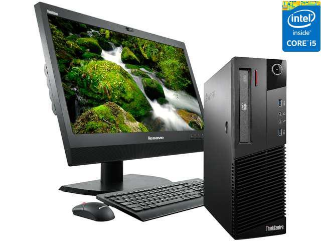 Lenovo ThinkCentre 10A9000SUS Desktop Computer - Intel Core i5 4570 3.20 GHz - Small Form Factor - Business Black