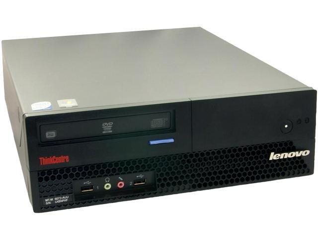 Lenovo Desktop PC M57 Core 2 Duo 2.66 GHz 2GB 500 GB HDD Windows 7 Home Premium 32bit