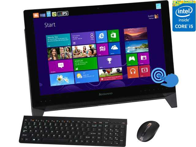 "Lenovo All-In-One PC IdeaCentre B550 (57321272) Intel Core i5 4440 (3.10 GHz) 6 GB DDR3 1 TB HDD 23"" Touchscreen Windows ..."