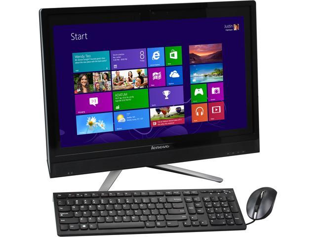 "Lenovo All-in-One PC C560 57324509 Intel Core i3 4130T (2.90 GHz) 6 GB DDR3 1 TB HDD 23"" Touchscreen Windows 8.1"