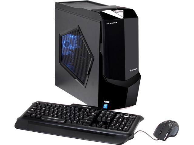 Lenovo Desktop PC Erazer X510 (57323869) Intel Core i7 4770K (3.50 GHz) 16 GB DDR3 1TB + 8GB SSHD HDD Windows 8.1