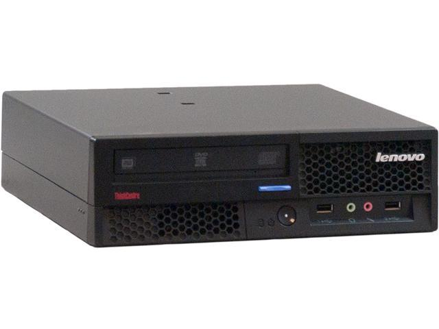 ThinkCentre Desktop PC M58p (6137) Core 2 Duo 3.0 GHz 4 GB DDR3 160 GB HDD Intel GMA 4500 Windows 7 Home Premium 32-Bit