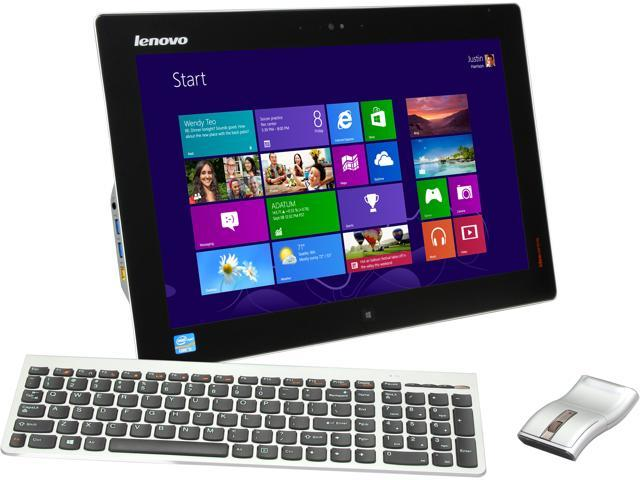 "Lenovo Portable All-in-One IdeaCentre Flex 20 (57318965) Intel Core i3 4010U (1.7 GHz) 4 GB DDR3 500 GB HDD 19.5"" Touchscreen ..."