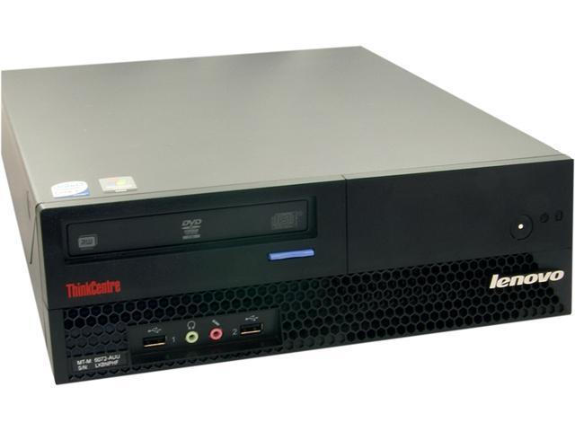 ThinkCentre Desktop PC M57 (NE3-0017) Core 2 Duo 2.33 GHz 2GB 160 GB HDD Windows 7 Home Premium