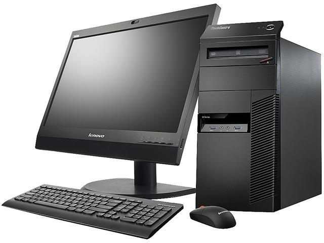 Lenovo ThinkCentre 10AL000NUS Desktop Computer - Intel Core i3 i3-4130 3.40 GHz - Mini-tower - Business Black