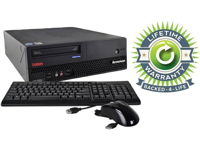 ThinkCentre Desktop PC Core 2 Duo 2.3 GHz 2GB 120 GB HDD Windows 7 Professional