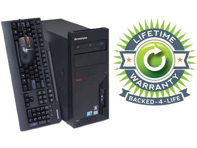 ThinkCentre Desktop PC Core 2 Duo 3.0 GHz 4GB 160 GB HDD Windows 7 Professional