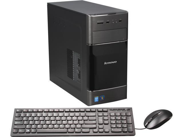 Lenovo Desktop PC H530 57327877 Intel Core i5 4460 (3.2 GHz) 8 GB DDR3 1 TB HDD Windows 7 Home Premium 64-bit
