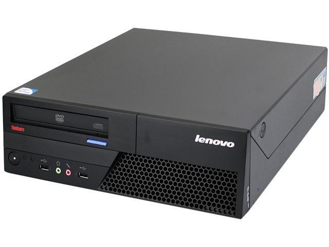 Lenovo Desktop PC M58 SFF-3.0-3GB-750GB-W7H Core 2 Duo 3.0 GHz 3 GB 750 GB HDD Windows 7 Home Premium