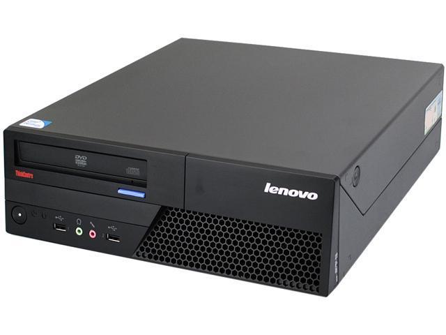 Lenovo Desktop PC M58 SFF-3.0-4GB-1TB-W7H Core 2 Duo 3.0 GHz 4 GB 1 TB HDD Windows 7 Home Premium