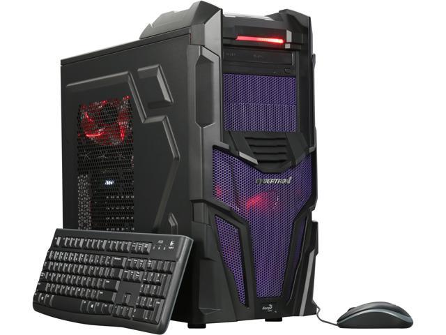 CybertronPC Desktop PC Shockwave-XM1070 Intel Core i5 6th Gen 6500 (3.20 GHz) 16 GB DDR4 1 TB HDD NVIDIA GeForce GTX 1070 Windows 10 Home 64-Bit